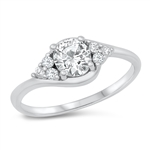 Silver CZ Ring - $5.33