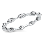 Silver CZ Ring - $4.56