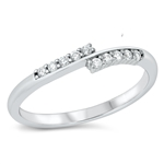 Silver CZ Ring - $4.93