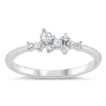 Silver CZ Ring - $4.53