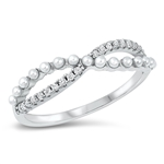 Silver CZ Ring - $5.99