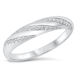 Silver CZ Ring - $6.82