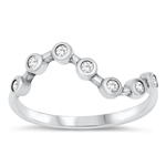 Silver CZ Ring - $4.73
