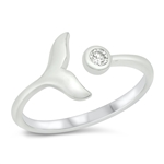 Silver CZ Ring - $3.54