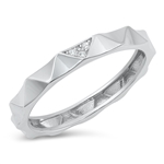 Silver CZ Ring - $5.36