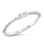 Silver CZ Ring - $4.99