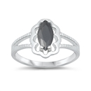 Silver Baby Ring W/ CZ  -  $3.29