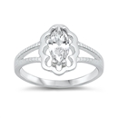Silver CZ Baby Ring  -  $3.29