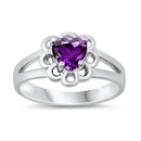 Silver CZ Baby Ring - $3.89