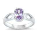 Silver Baby Ring W/ CZ  -  $3.42