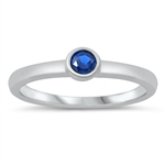Silver CZ Ring - Baby Ring - $3.19