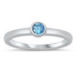 Silver CZ Ring - Baby Ring - $2.77