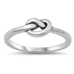 Silver Ring - Knot - $2.33