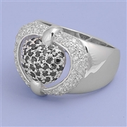 Silver CZ Ring - $11.15