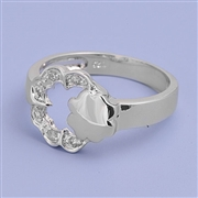 Silver CZ Ring  - $6.46
