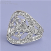 Silver CZ Ring - $8.90
