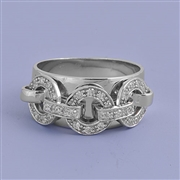 Silver CZ Ring - $8.37