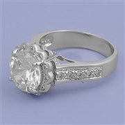 Silver CZ Ring - $9.37