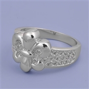 Silver CZ Ring - $7.20