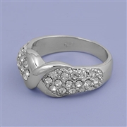 Silver CZ Ring - $7.87