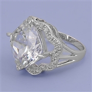 Silver CZ Ring - $13.78