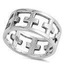 Silver CZ Ring - $5.20