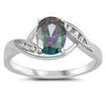 Silver CZ Ring - $4.51