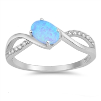 Silver CZ Ring - $5.49