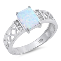 Silver CZ Ring - $6.28