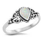 Silver CZ Ring - $5.24
