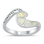 Silver Ring - Wave - $8.52