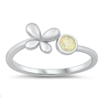 Silver Ring - Butterfly - $4.98