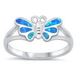Silver CZ Ring - Butterfly - $6.59