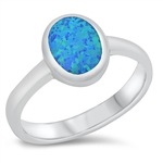 Silver CZ Ring - Oval - $10.71
