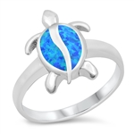 Silver CZ Ring - Turtle - $9.59