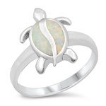 Silver CZ Ring - Turtle - $8.79