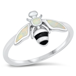 Silver CZ Ring - Bee - $6.95