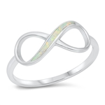 Silver CZ Ring - Infinity - $5.15
