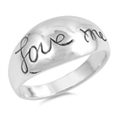 Silver Ring - Love Me - $5.61