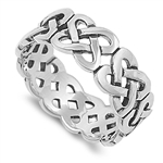 Silver Celtic Ring - $6.18