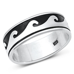 Silver Wave Ring -  $7.56
