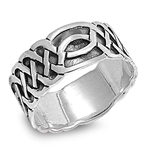 Silver Celtic Ring - $15.24