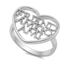 Silver Ring  - Friend Amigo Ami -   $7.92