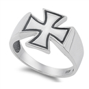Silver Ring - Cross  -  $6.98