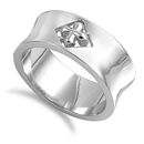 Silver Ring - Cross  -  $12.87