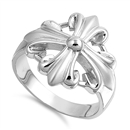 Silver Ring - Cross  -  $12.28