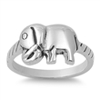 Silver Ring - Elephant  -  $6.86