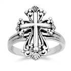 Silver Ring - Cross - $5.33