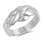 Silver Ring - Puzzle - $8.53