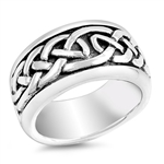 Silver Celtic Ring - $10.75